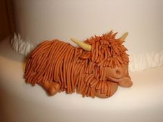 Image detail for -Highland Cow! by on Cake Central Healthy Toddler Meals, Toddler Food, Cow Cakes, Catering Food Displays, Scottish Highland Cow, How To Make Icing, Farm Cake, Pottery Animals, Wedding Appetizers