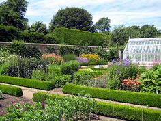 West Dean Walled Kitchen Garden by bobfranklin, via Flickr