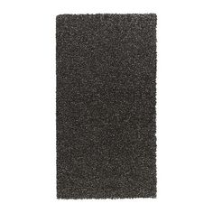 ALHEDE Rug, high pile IKEA Its dense, thick pile creates a soft surface for your feet and also dampens sound.