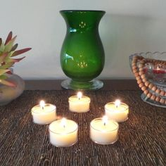 Gift bag of 5 clear soy tea light candles. Great for ceremonies, special occasions and table decorations. Candles set a beautiful mood. Cups are made from 100% flame retardant polycarbonate allowing candlelight to glow and stay cool. Non-toxic and recyclable. Burn time 5-6hrs. 2cm x 3.9cm. Vegan friendly. $6.00au. Made in Australia Tea Light Candles, Soy Candles, Tea Lights, Candle Set, Candle Holders, Flame Retardant, Smudge Sticks, Vegan Friendly, Incense