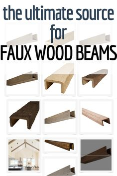 Faux Panels Diy Home Renovation Projects - Detox Diet & Keto Recipes Faux Wooden Beams, Faux Beams, Wooden Beams Ceiling, Wood Beams, Fake Beams On Ceiling, Beam Ceilings, Ceiling Lighting, Diy Rustic Decor, Rustic Home Design