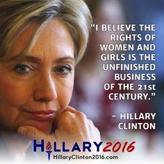 hillary clinton women's rights are human rights - Google Search