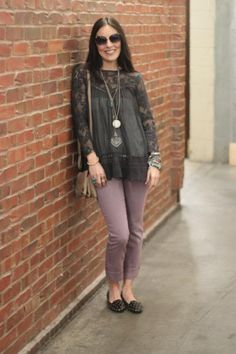 Skinny Pull On Crop style pic on Free People