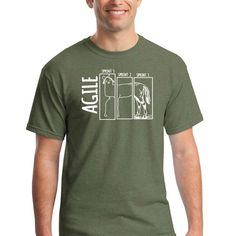 Heather Green, Mens Tops, T Shirt, Supreme T Shirt, Tee, T Shirts