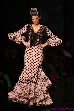Traje de Flamenca - Hermanas-Serrano - SIMOF-2013