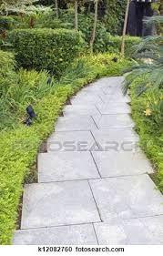 Resultado de imagem para caminho no jardim