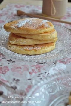 Placuszki z serka wiejskiego Baby Food Recipes, Sweet Recipes, Cooking Recipes, Eat Breakfast, Breakfast Recipes, Crepes And Waffles, Good Food, Yummy Food, Love Eat