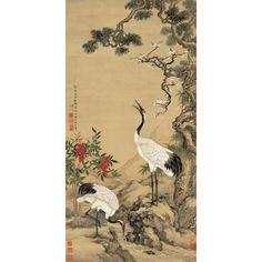 Papier peint tapisserie 3d sur mesure style asiatique zen les fleurs de ceris - Papier peint asiatique ...