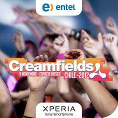Eso que sientes, es Creamfields Chile 2012