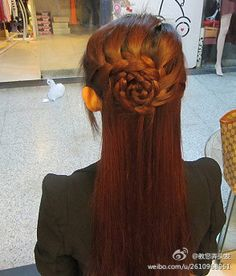 braided hairstyle. Love this look. Wedding, prom, formal, updo, up do, casual.