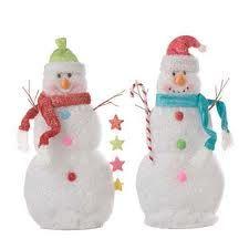 snowman figurines - Google Search