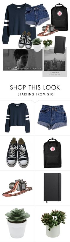 """Set."" by ellamott ❤ liked on Polyvore featuring Meggie, H&M, Converse, Fjällräven, Shinola and M&Co"