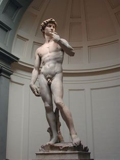 """One of my favorite things to do in Florence, Italy: Standing in awe of Michelangelo's David and learning about Renaissance history. One of the many memorable moments on """"David & Duomo"""" walking tour. Michelangelo, Miguel Angel, Italian Renaissance, Renaissance Art, Florence City, Italian Sculptors, Human Emotions, Bronze, Teaching Art"""
