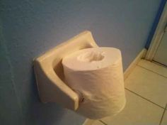 And whoever reloaded this toilet paper roll: | 25 People Who Are Bigger Jerks Than You'll Ever Be