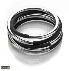 Bracelet Bling, Jewels, Tableware, Bracelets, Silver, Tube, Urban, Bangles, Jewelery