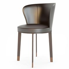 3d italian chair giorgetti leather model