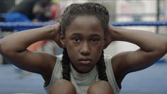 """Discover the exclusive meeting of Anna Rose Holmer, director of """"The Fits"""", an experimental movie between art and cinema. Contagion Film, Sundance 2016, Anna Rose, Two Movies, 2016 Movies, Watch Movies, Between Two Worlds, Boxing Gym, Youth Boxing"""