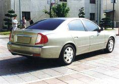 OG | 2000 Daewoo Magnus | Clay model from Giugaro