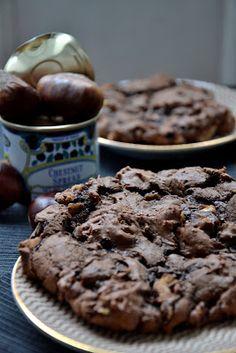 Ma Part du Gâteau: COOKIES Chocolat Châtaignes