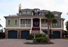 Southern Beach Home...looks perfect for all the cars im gonna own to have to lug around my 6 (or 10) kids