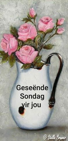 Lekker Dag, Afrikaanse Quotes, Goeie More, Morning Greetings Quotes, Easy Face Masks, Inspirational Prayers, Rock Art, Cute Dogs, Sunday