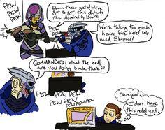 funny mass effect 2 comics