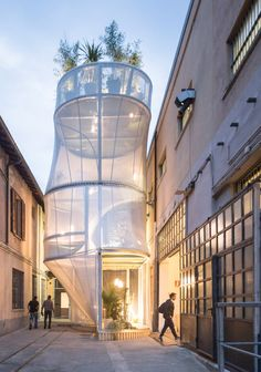 Breathe by SO-IL anticipates increasing urban density and optimizes a 50 square meter plot with a vertical modular metal frame that supports six potential rooms and a roof garden: http://www.archello.com/en/project/mini-living-%E2%80%93-breathe Breathe is part of our 10 highlights from Milan design week 2017 http://www.archello.com/en/collection/10-highlights-milan-design-week-2017?utm_content=bufferf2215&utm_medium=social&utm_source=pinterest.com&utm_campaign=buffer