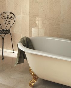 Sorrento polished marble has a glossy finish for a chic and sophisticated style.