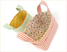 Re-imagine & Renovate: Structured Fabric Task Baskets | Sew4Home