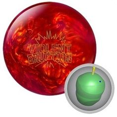 Columbia 300 Violent Eruption Bowling Ball - Bowling Balls with Free Shipping - Bowlersmart.com