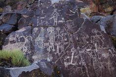 coso range california rock art america