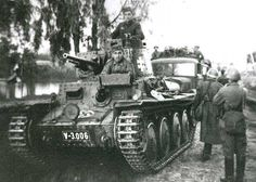 German 38(t) light tank, made in Czechoslovakia. The 1,414 Czech built 38(t)s were important in hiding the low production numbers of German built Panzer IIIs. The tank was well suited to Blitzkrieg tactics and  was a very important contributor to German success in France in 1940.
