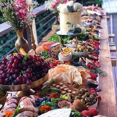 326 Likes, 17 Comments - Platters & Beers Food Table Decorations, Engagement Cakes, Wedding Engagement, Party Food Platters, Grazing Tables, Cheese Lover, Party Buffet, Hors D'oeuvres, Wine Parties