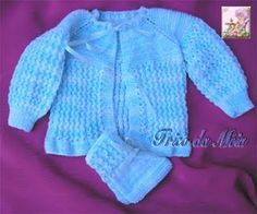 Cardigan Helena en PALA Monte tricoter 73 mailles et - - Pontos en tricot . Crochet Simple, Crochet Double, Bebe Baby, Baby Knitting, Sweaters, Fashion Trends, Centre, Baby Knits, Poncho