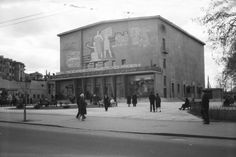 """Кинотеатр """"Октябрь"""" Нижний Новгород, Россия 1963"""