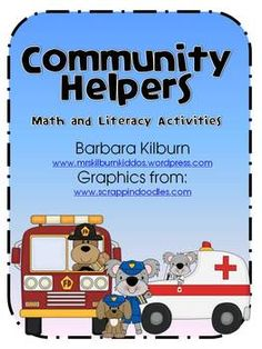 Community Helpers Math and Literacy Activities for the Classroom