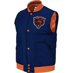 Get this Chicago Bears Free Agent Vest at ChicagoTeamStore.com