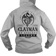 I Love CLAYMAN DRAGON T shirts