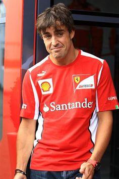 Fernando Alonso (ESP) Ferrari. Formula One World Championship, Rd10, German Grand Prix, Preparations, Hockenheim, Germany, Thursday, 19 July 2012  © Sutton Images.