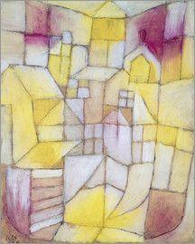 Paul Klee - Rose-Jaune