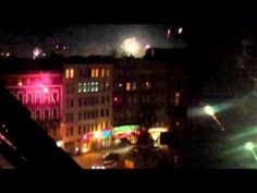 Fireworks in Berlin and a near disaster