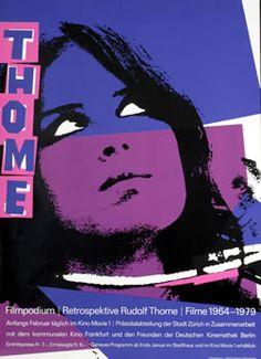 1980s / Post-modern: Bruhwiler, Paul poster: Thome - Filmpodium