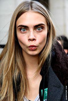 Cara Delevingne. Model Behavior. Models off duty #offduty #backstage
