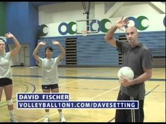 Volleyball Setting Technique