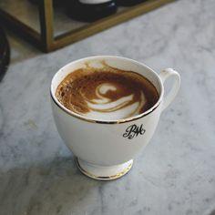 Morning latte.