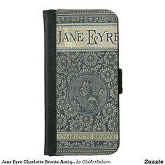 Jane Eyre Charlotte Bronte Antique Book iPhone 6 Wallet Case