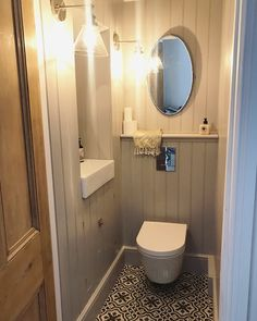 Roses and Rolltops : Makeover - Downstairs Cloakroom Small Downstairs Toilet, Small Toilet Room, Downstairs Cloakroom, Understairs Toilet, Bathroom Under Stairs, Bathroom Design Small, Bathroom Ideas, Bathroom Storage, Cloakroom Ideas