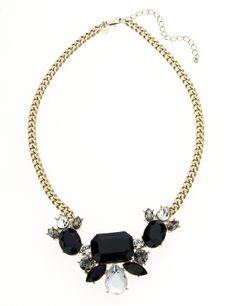 M&S Collection Jewel Embellished Diamanté Necklace
