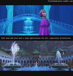 Heh. I never thought of that while watching the movie...(except that fact that kristoff was drooling at the mouth because of all the lively ice lol:D)
