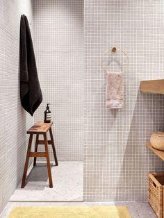 bild tips badrum mosaik arbete ny : Anden av ångrum i ett minibadrum